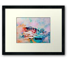 Nesebar Coast Framed Print