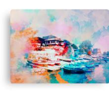 Nesebar Coast Canvas Print
