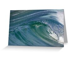 Curvaceous Water Greeting Card