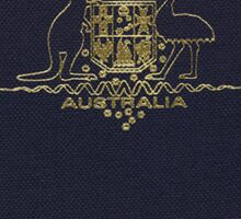 Australia Passport Sticker Sticker