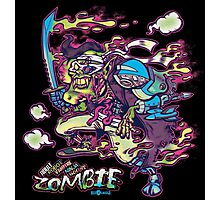 Adult Robot Vampire Ninja Ghost Zombie Photographic Print