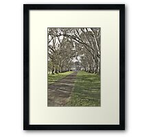 Oakbank House in HDR Framed Print