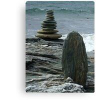 Stone to Stone Canvas Print
