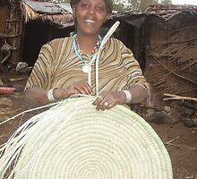 Skilled Basket Maker - Ethiopia by ljpoole
