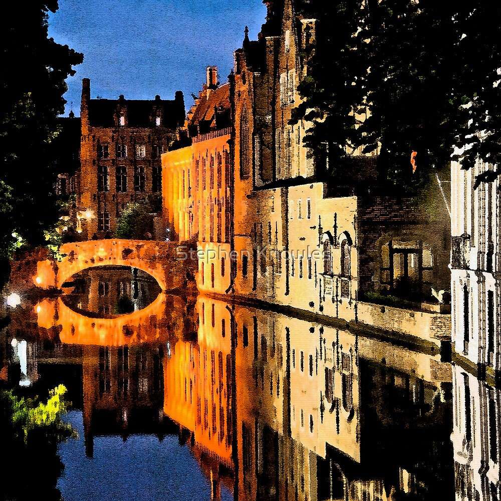 Artistic Bruges by Stephen Knowles