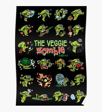 The Veggie Zombie Poster