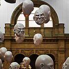 Glasgow Kelvinggrove Gallery Heads by Peter Stark