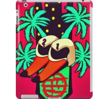 DEADLY SWANS iPad Case/Skin