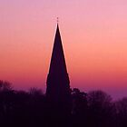 Church Steeple, Early Morning - Leifield, Oxfordshire by Reuben Vick