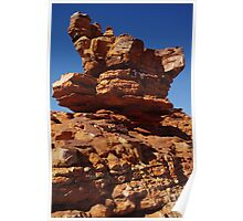 Rock Formations Poster