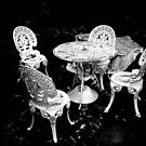 Patio Chairs, Winter by Reuben Vick