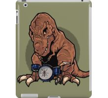 T-Rex playing the Drums iPad Case/Skin