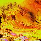 Molten Waves by WienArtist