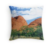 The Olgas Throw Pillow