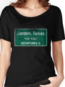 Jarden, Texas Road Sign Women's Relaxed Fit T-Shirt
