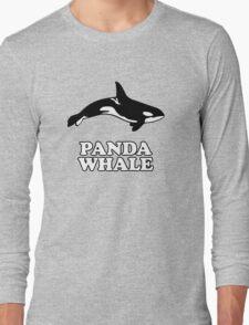 Panda Whale Long Sleeve T-Shirt