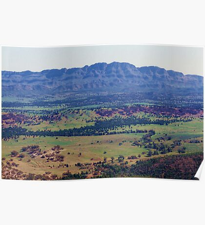 Flinders Ranges from Wilpena Pound Poster
