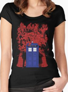 They Have The Phone Box... Women's Fitted Scoop T-Shirt