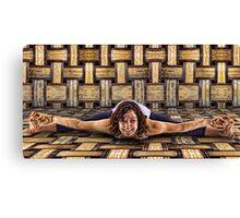 Yoga Stretch Canvas Print