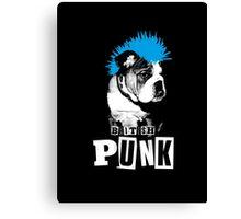 British Punk Canvas Print