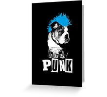 British Punk Greeting Card