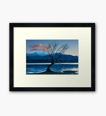 Dawn on Lake Wanaka Framed Print