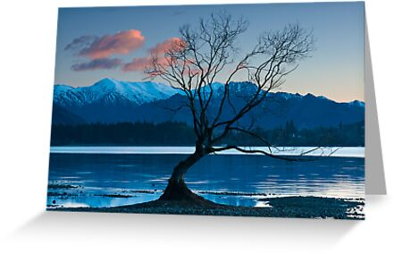 Dawn on Lake Wanaka by Neville Jones