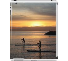 Sunset by the sea iPad Case/Skin