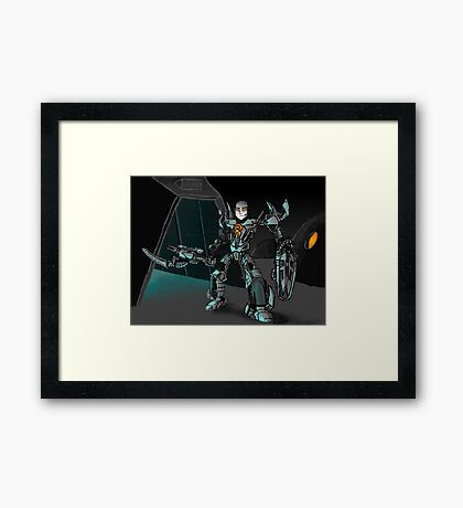 Toa Tom Framed Print