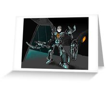 Toa Tom Greeting Card