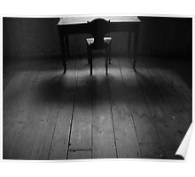Table and Chair Interior Poster