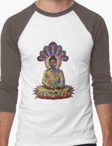 buddha - 2011 as tshirt Men's Baseball ¾ T-Shirt