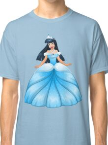 Asian Princess in Blue Dress Classic T-Shirt