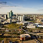 Melbourne, Southbank by Janice Kho