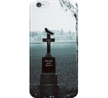 God bless our fields iPhone Case/Skin