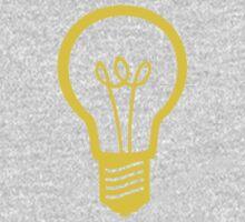 Attention Lightbulb Kids Clothes