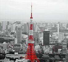 Tokyo Tower by AnaBanana