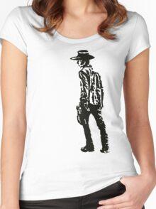 Carl Grimes Walking Dead Women's Fitted Scoop T-Shirt
