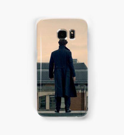 Sherlock Falls Samsung Galaxy Case/Skin