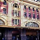 Flinders Station, Melbourne by Janice Kho