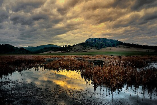 Pigeon Butte ~ Finley Refuge ~ by Charles & Patricia   Harkins ~ Picture Oregon