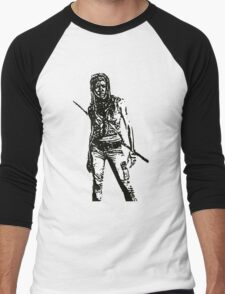 Michone Walking Dead Men's Baseball ¾ T-Shirt