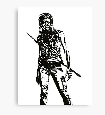 Michone Walking Dead Canvas Print