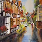 Boat trip- CANTERBURY by Beatrice Cloake Pasquier