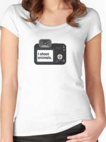 Photography Photographer Gift Cool Women's Fitted Scoop T-Shirt