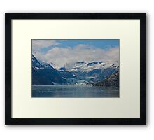 Johns Hopkins Glacier, Glacier Bay Alaska Framed Print