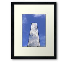 Steel and Sky Framed Print