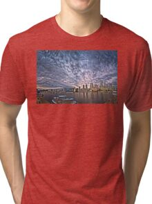 Searching for Tomorrow (HDR double pano) Tri-blend T-Shirt