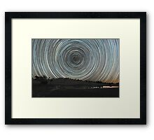 Around the Southern Celestial Pole Framed Print