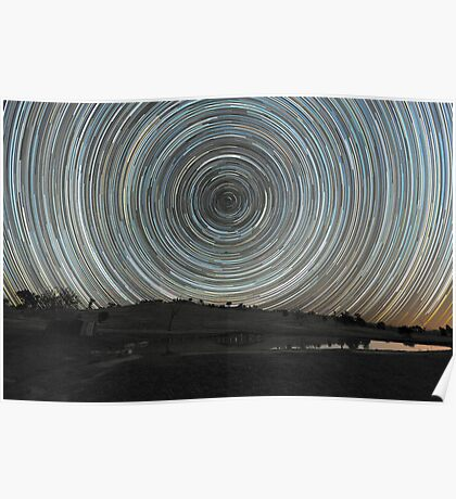 Around the Southern Celestial Pole Poster
